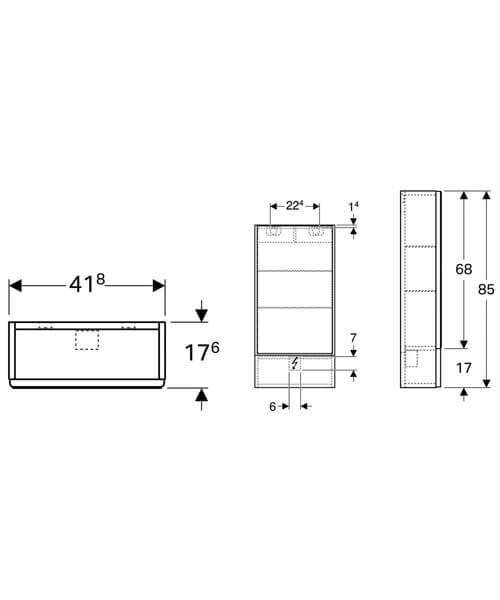 Technical drawing 40578 / 500.155.01.1