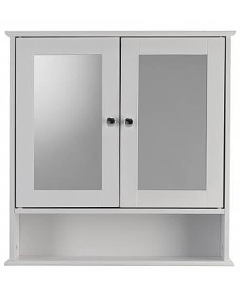 Croydex Anderson Double Door Mirror Cabinet