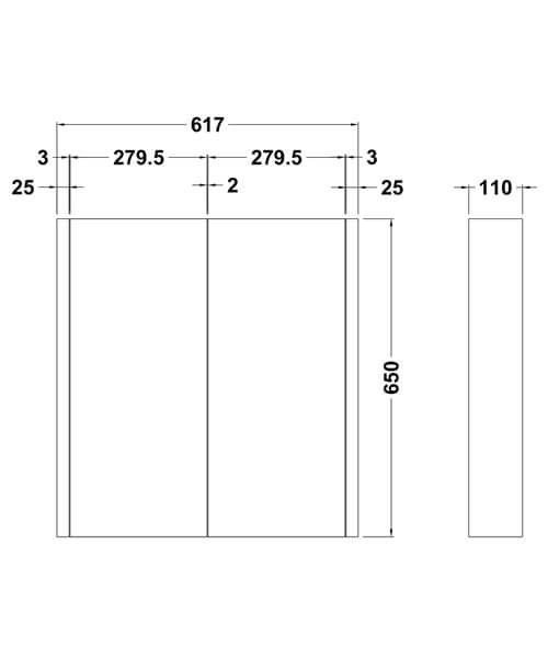 Technical drawing 2423 / NVM113