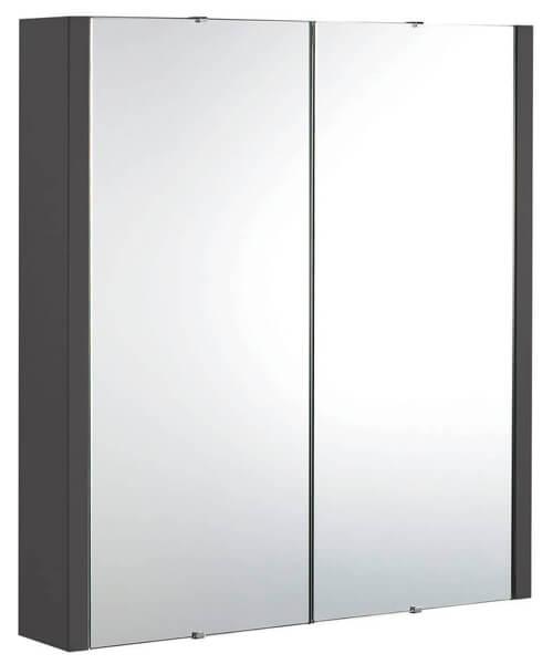 Additional image of Nuie Eden 600mm High 2 Door Mirror Cabinet