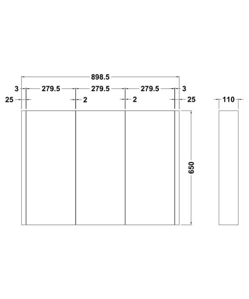 Technical drawing 2424 / NVM116