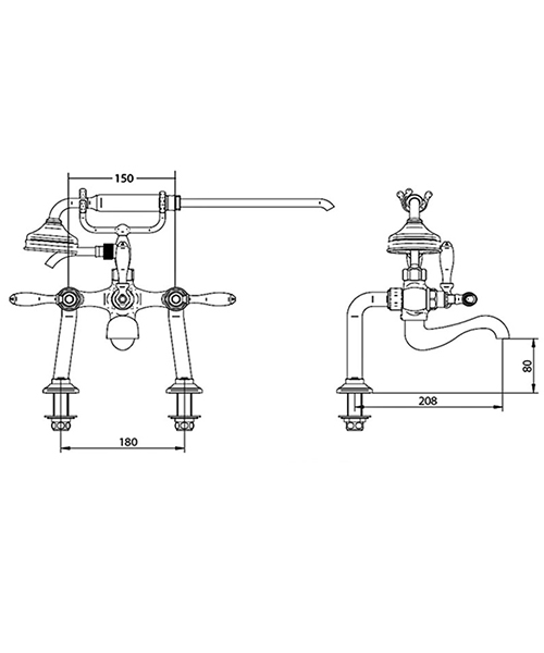 Technical drawing 14005 / ZXT6051100