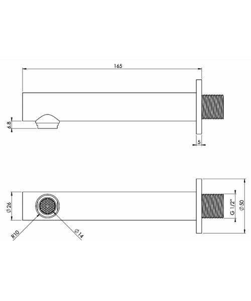 Technical drawing 63933 / CO232
