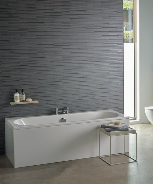 Additional image of Ideal Standard Tesi 170cm x 70cm Double-Ended Idealform Plus Bath