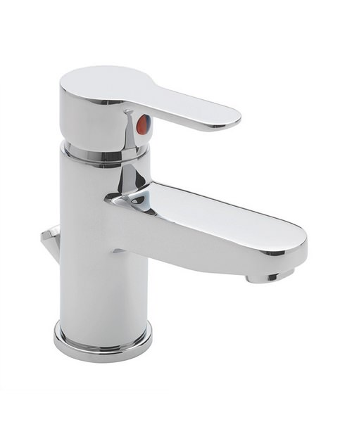 Tre Mercati Lollipop Chrome Mono Basin Mixer Tap With Pop Up Waste