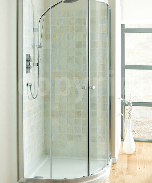 Simpsons Edge Double Door Quadrant Shower Enclosure 800 x 800mm