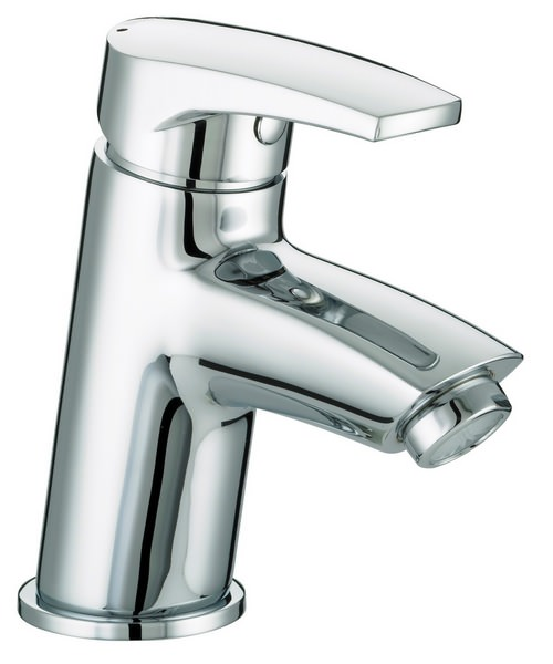Bristan Orta Chrome Plated Basin Mixer Tap With Clicker Waste