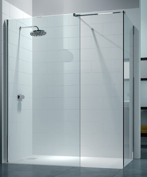 Merlyn 8 Series 1400 x 800mm Walk In Enclosure With End Panel