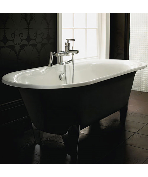 Imperial Plaza Cast Iron Double Ended Bath With Feet 1770 x 790mm