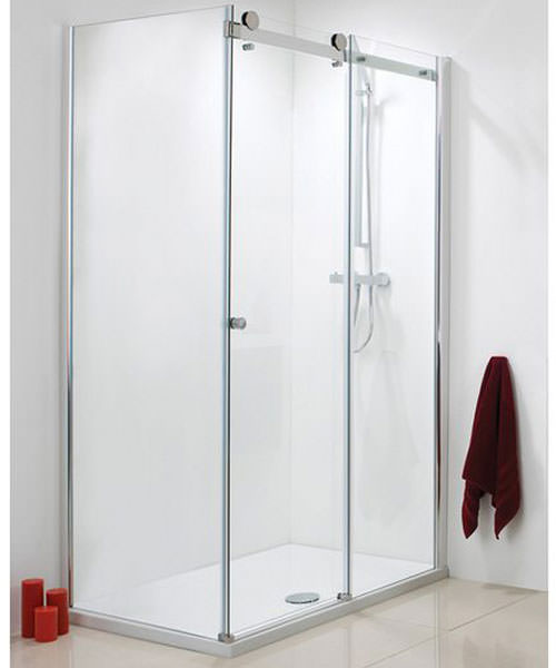 Phoenix Frameless Single Slider Shower Door 1400mm