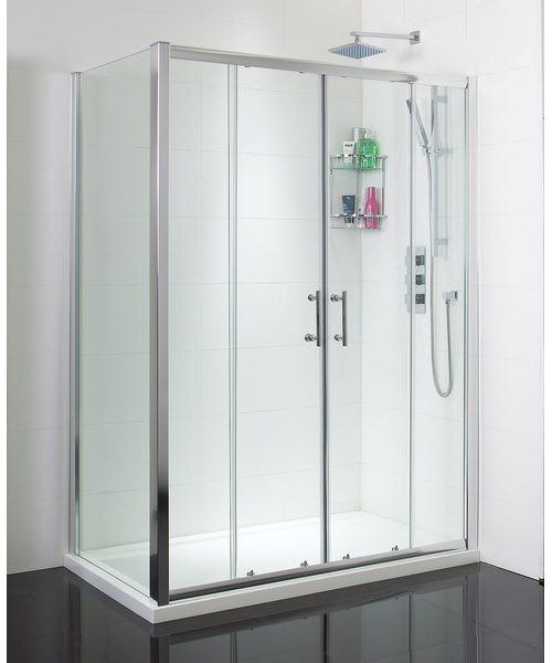 Phoenix Twin Sliding Shower Door 1700mm