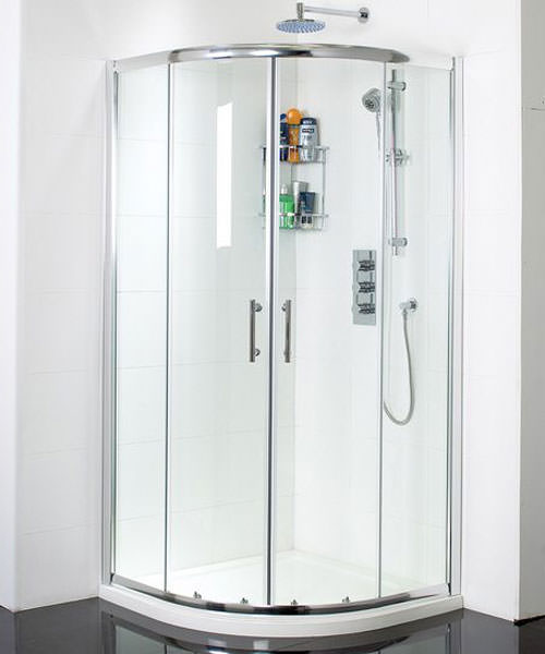 Phoenix Twin Door Quadrant Shower Enclosure 800 x 800mm