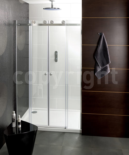 Simpsons Central 1400mm Double Slider Shower Door