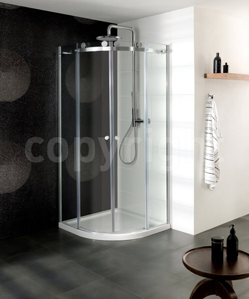 Simpsons Central 1000mm Double Door Quadrant Shower Enclosure