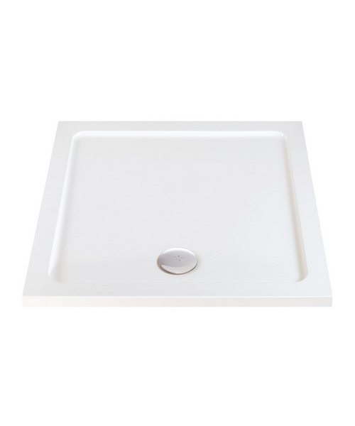 Phoenix Low Profile Square Shower Tray 1000mm x 1000mm
