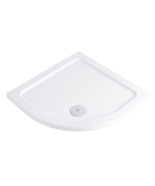 Phoenix Low Profile Quadrant Shower Tray 1000 x 1000mm