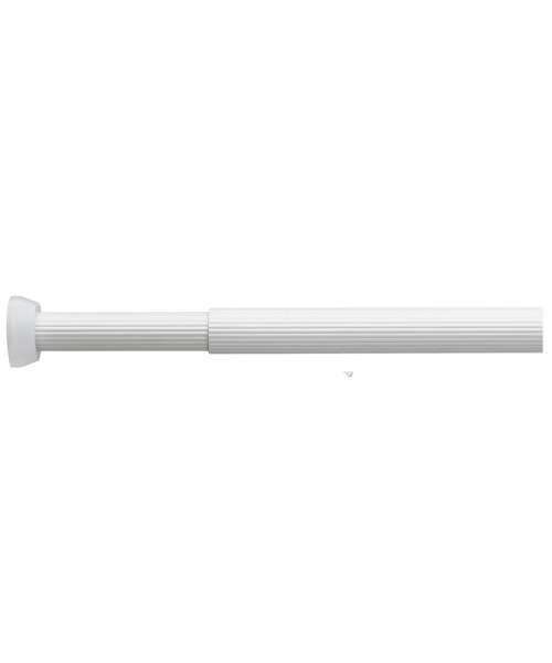 Croydex Heavy Duty Telescopic Tension Silver Rod 1100 - 1950mm