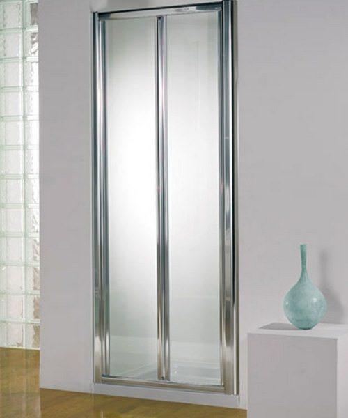 Kudos Original Silver Frame Bi-Fold Door 900mm