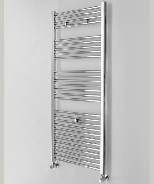 Essential Straight450 x 690mm Chrome Plated Towel Rail