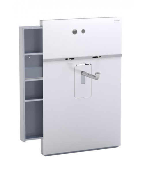 Geberit Umbra Monolith Sanitary Module With Drawer For Wall Hung Basin