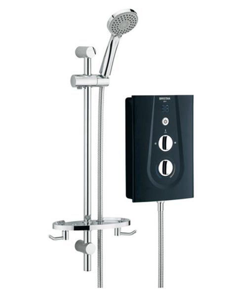 Bristan Glee 10.5 kW Black Electric Shower