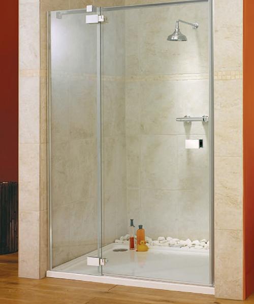 Lakes Italia E-Lite Vittoria Frameless Hinged Shower Door 1400mm