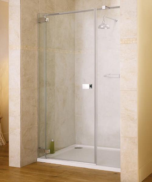 Lakes Italia E-Lite Caldoro Frameless Hinged Shower Door 1400mm