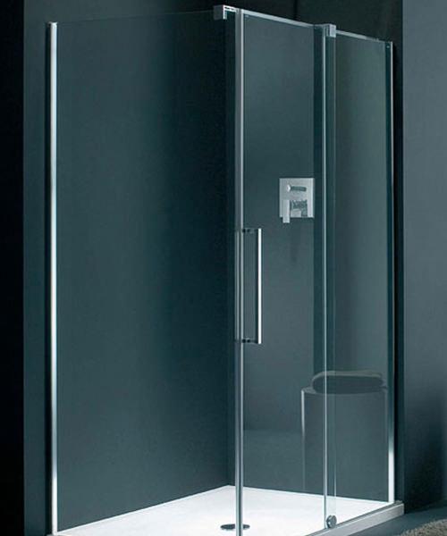 Lakes Italia S-Lite Novara Frameless Sliding Door 1400mm
