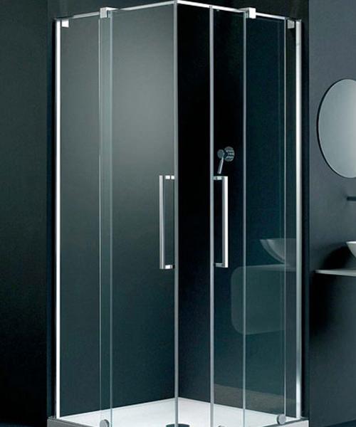 Lakes Italia S-Lite Fabriano Sliding Door Shower Enclosure 700mm