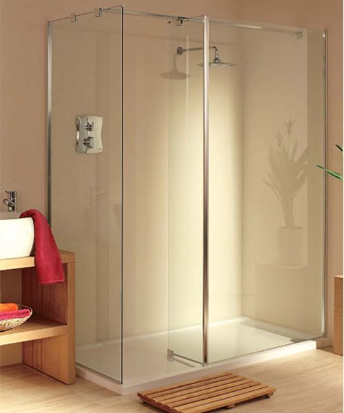 Lakes Italia Modula Padova Walk In Shower Enclosure 1600 x 1000mm