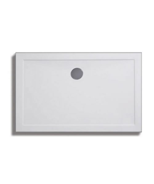 Lakes Low Profile ABS Rectangular Tray 1800 x 800mm With 90mm Waste