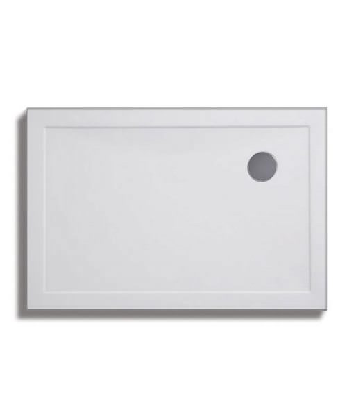 Lakes Low Profile ABS Rectangular Tray 1100 x 800mm With 90mm Waste