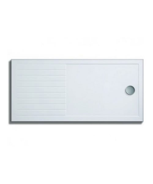 Lakes Low Profile Rectangular Shower Tray 1600 x 800mm With 90mm Waste
