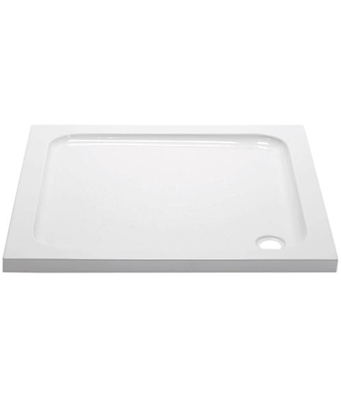 April Square 45mm High Shower Tray