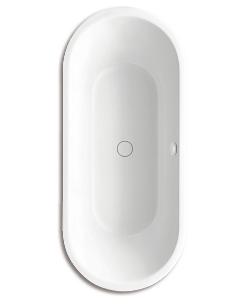 Centro Duo Oval 128-7 Moulded Panel Steel Bath 1800 x 800mm