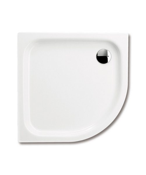 Kaldewei Advantage Zirkon Offset Quadrant Shower Tray 800 x 1000 x 35mm