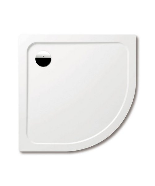 Kaldewei Ambiente Arrondo 872-1 Quadrant Shower Tray 1000 x 1000 x 25mm