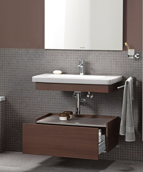 Duravit DuraStyle 650mm Basin With Trim And Low Cabinet