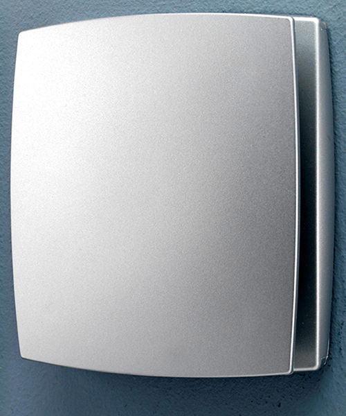 Alternate image of HiB Breeze Wall Mounted White Bathroom Fan With Timer