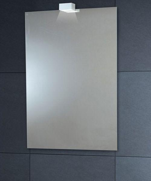 Phoenix Down Lighter 600 x 900mm Mirror Portrait With Demister Pad