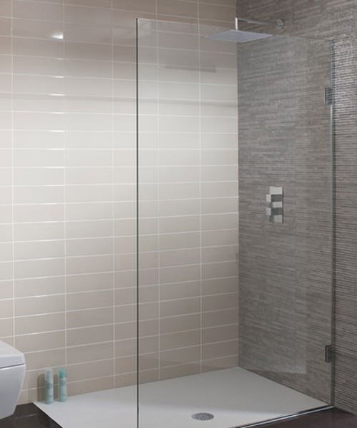Simpsons Ten Single Fixed Walk In Shower Panel 500 x 2000mm
