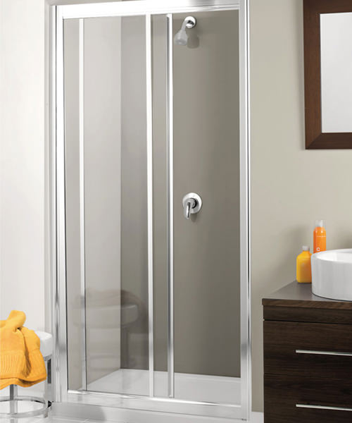 Simpsons Supreme 1400mm Single Slider Framed Shower Door