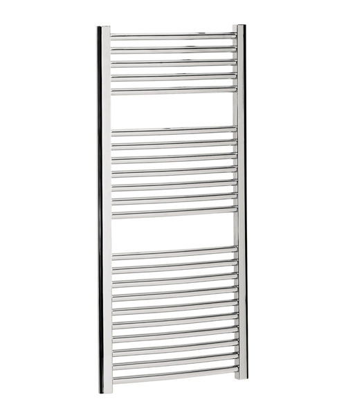 Bauhaus Stream 500 x 1110mm Curved Panel Towel Rail