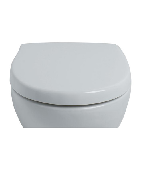 Ideal Standard Create Edge Square Normal Close Toilet Seat And Cover