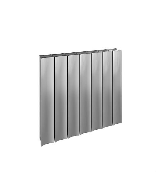Reina Luca Double Sided Polished Aluminium Radiator 470 x 600mm