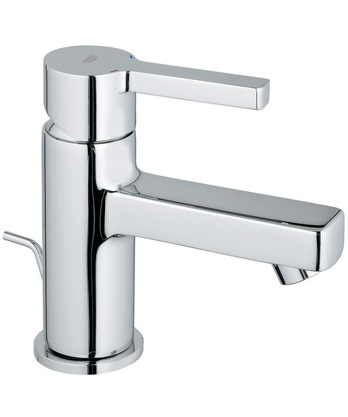 Grohe Lineare Basin Mixer Tap With Pop-Up Waste