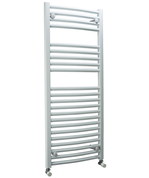 DQ Heating Orion Heated Curved Towel Rail