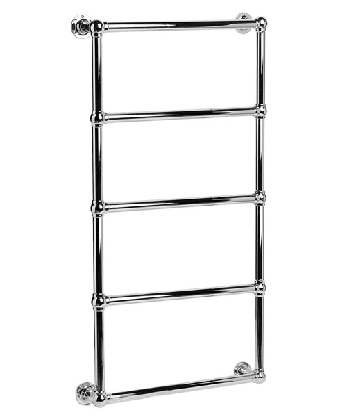 DQ Heating Elveden Wall Mounted Heated Towel Rail 694 x 1608mm