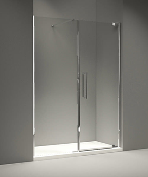 Merlyn 10 Series Pivot Door And Inline Panel 1500mm