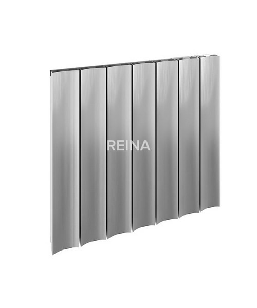 Reina Luca Horizontal Single Panel Aluminium Radiator 850 x 600mm